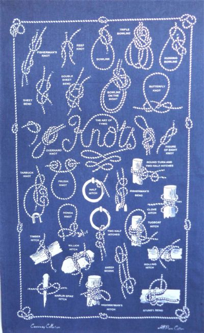 The Art of Tying Knots Galley Cloth / Tea Towel